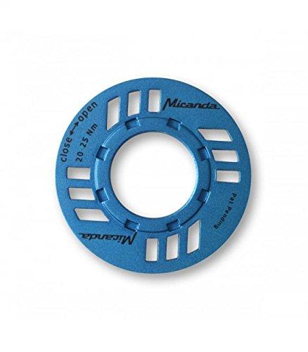 Miranda E-Bike Kettenschutz mit O-Ring für Bosch Antrieb, blau, One Size