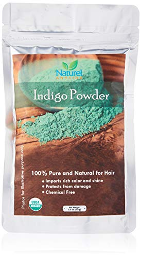 Organic (USDA, GMP) Indigo powder (used with Henna,