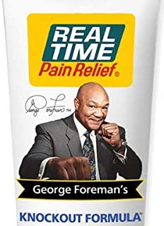 Real Time Pain Relief George Foreman`s Knockout Formula