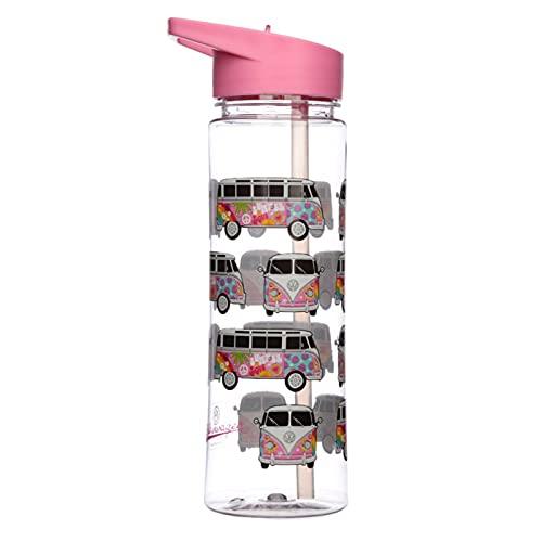 Botella de agua con asa - Caravana VW T1 Amor 550ml