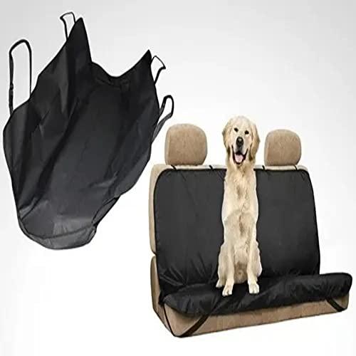 Cubierta Asiento Coche Perro, Cubre Asientos de Coche para Mascotas, Impermeable, Funda para Perros, Universal
