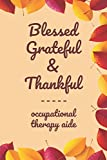 """Blessed Grateful & Thankful occupational therapy aide: Gratitude Journal for occupational therapy aide /120 pages (6""""x9"""") of Blank Lined Paper ... Practice Gratitude And Daily Reflection, Off"""