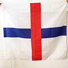 AZ FLAG Trinitarian Order Flag 3' x 3' for a Pole - Trinitarians Flags 90 x 90 cm - Banner 3x3 ft with Hole