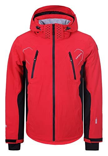 Icepeak Herren Skijacke Nemo (rot - schwarz) Outdoor Funktionsjacke, Gr. 52