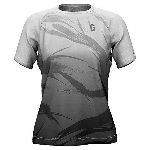 Scott OCS W S T-Shirt Kinabalu Run Light Grey/Black