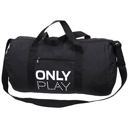 Only play Promo black bag-Borsone tubolare, colore: nero, taglia unica