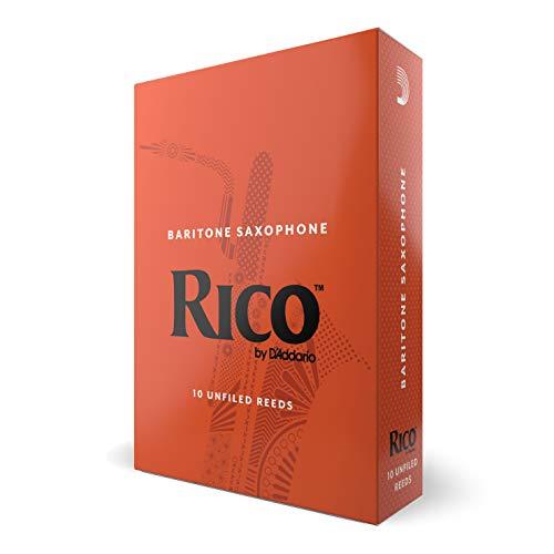 RICO Blätter für Baritonsaxophon Stärke 2.5 (10 Stück)