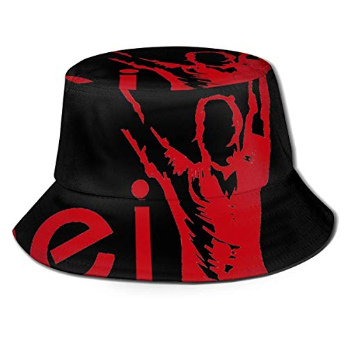 gii6LMLMLFGHLBB Unisexo Men and Women General Caps Cotton Fisherman's Sombrero Enrique Iglesias Club Unique Design Sombrero Bucket Cap Black Summer