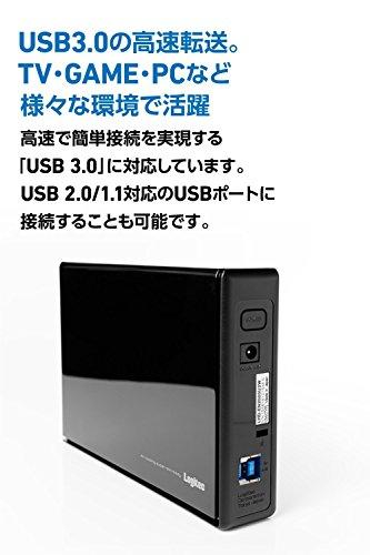 Logitec外付けHDD外付けハードディスクUSB3.1Gen1(USB3.0)3TBLHD-ENA030U3WS