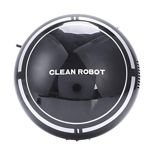 Chaud 2 en 1 Plancher rechargeable rechargeable Robot Robot Robe-poussière Rober Intelligent Auto-induction Plancher Robot Vide de robot (Couleur: Noir) WANGHN (Color : Black)