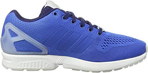 adidas Zx Flux - Zapatillas de deporte para hombre, Azul / Blanco, EU 41 1/3 (UK 7.5)