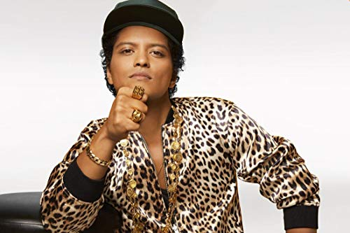 JinJing Prints Bruno Mars 36inch x 24inch Customized Silk Print Poster | Silk Wallpaper | Silk Printing