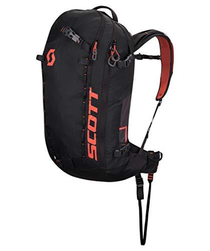Scott Patrol E1 40 Backpack KIt Schwarz, Lawinenrucksack, Größe 40l - Farbe Black - Burnt Orange