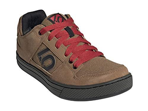 Five Ten Men's Freerider Mountain Bike Shoe, Raw Desert/Black/Glory Red - 9