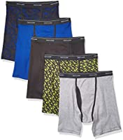Fruit of the Loom Mens Coolzone Boxer Briefs (Assorted Colors)