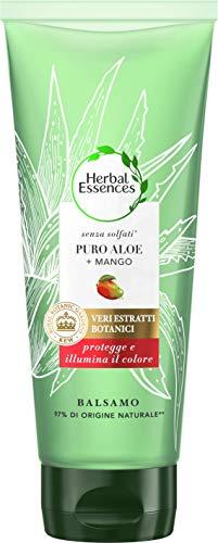 Herbal Essences Balsamo Senza Solfati Con Puro Aloe + Mango, In Collaborazione Con I...