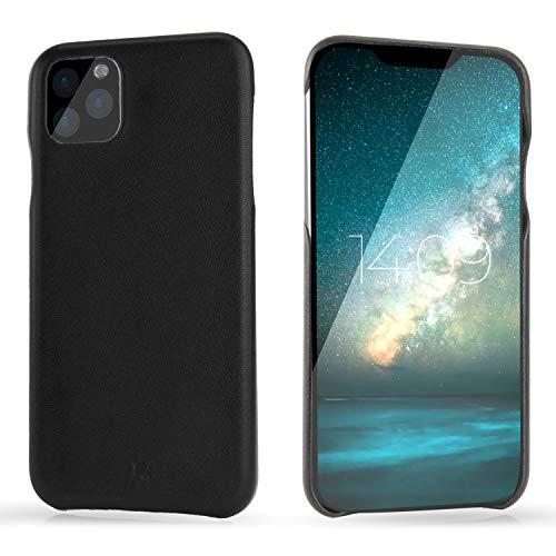 "BULLAZO Menor Classic – kompatibel mit iPhone 11 XI Hülle Schutzhülle Handy Hülle aus hochwertigem Leder 6,1"" schwarz"
