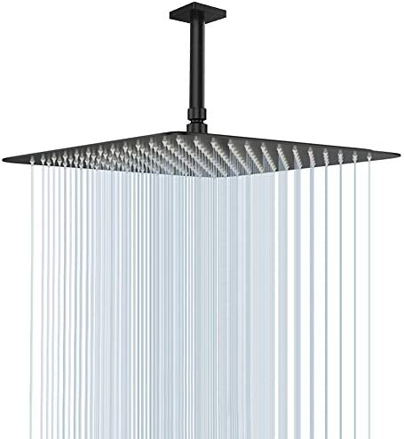 Large Rain Shower Head NearMoon Luxury Square Stainless Steel Rainfall Showerhead Waterfall product image