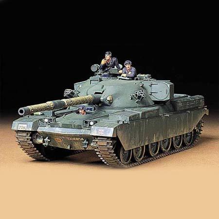 TAMIYA 35068 1:35 Brit. KPz Chieftain Mk.5 (3), Modellbausatz,Plastikbausatz, Bausatz zum Zusammenbauen, detaillierte Nachbildung