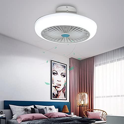 Ventilatore Soffitto Con Luce Silenzioso Lampadario Ventilatore Da Soffitto Con Telecomando 3 Velocita Plafoniera Con Ventilatore Wifi Lampada Da Soffitto Led Bluetooth Cameretta