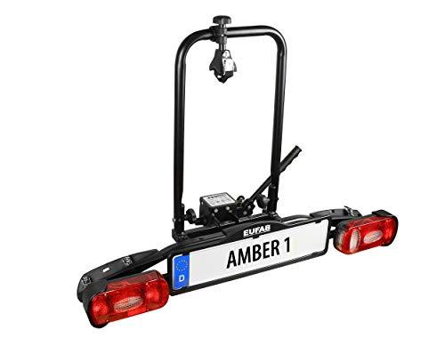 Eufab 11559 Amber 1 - Portabicicletas para Bicicletas eléctricas