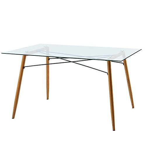 Versanora Minimalista Dining Tables, Clear