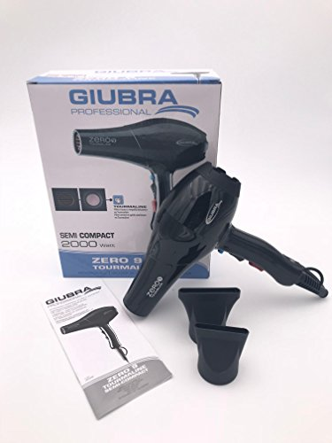 GIUBRA ZERO 9 SEMI COMPACT 2000W NEGRO TOURMALINE SECADOR