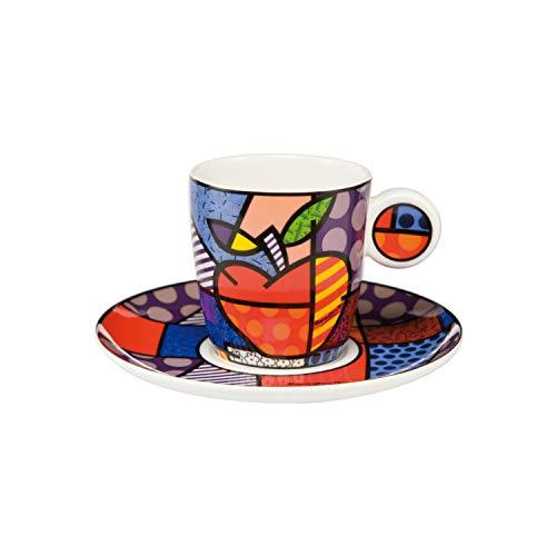Goebel Pop Art Big Apple - Espressotasse Bunt