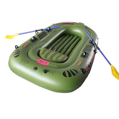 N/J Schlauchboot, Sprengboot, Schlauchboot, Schlauchboot für Erwachsene, Bootsset Sprengfloß Set mit Rudern und Fußpumpe Schwimmen im Freien Aufblasbares Kinderbecken Angeln See Rafting