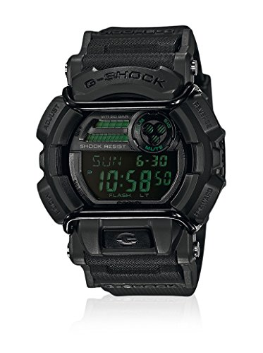 G-Shock Herren-Armbanduhr XL G-Shock Digital Quarz Resin GD-400MB-1ER