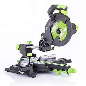 Evolution Power Tools F255SMS Sierra ingletadora deslizante multimaterial, 230 V, 255 mm