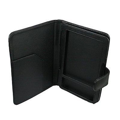 Black PU Leather Case Cover for Reader Amazon Kindle 3 3G Wi-Fi 3rd Generation