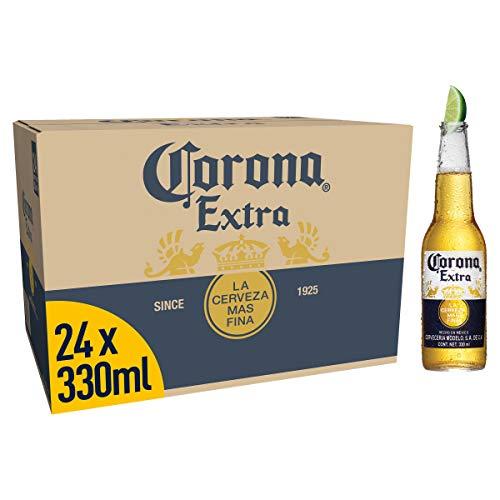 Corona Cerveza - Paquete de 24 x 330 ml - Total: 7920 ml