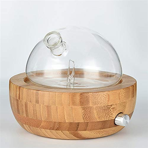 Bamboo Glass Waterless diffuser Aromatherapy NO Heat, No Water Cool Mist