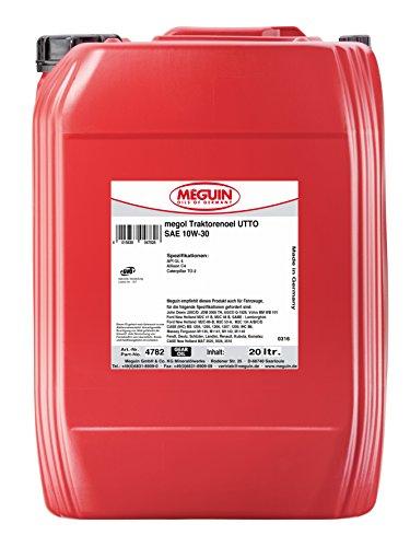 Meguin 4782 Megol Traktorenöl UTTO SAE 10W-30, 20 L