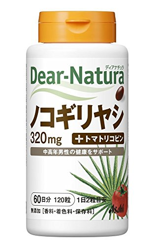 アサヒグループ食品 ディアナチュラ ノコギリヤシ120粒(60日)