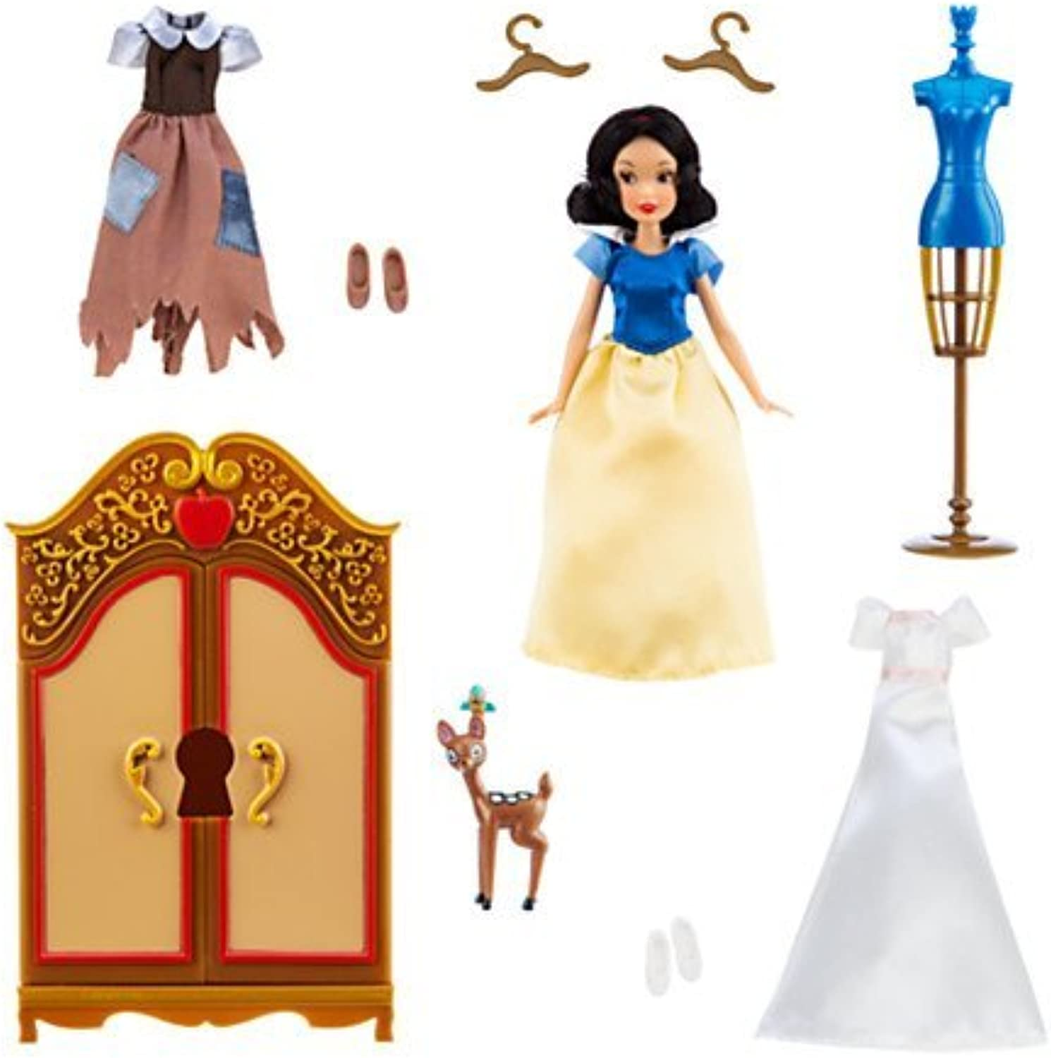 Disney Snow Weiß Wardrobe Doll Play Set by Disney