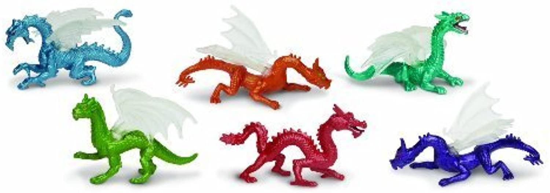 Safari Ltd Dragons TOOB, 6 Count by Safari Ltd.