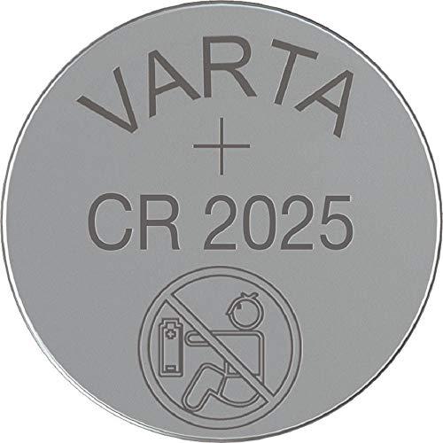 Varta Batterie Knopfzelle CR2025 3V 157mAh Lithium 1 Stück