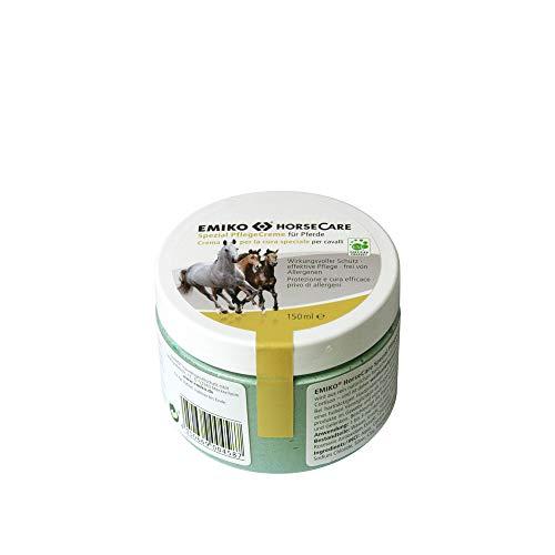 Emiko HorseCare Spezial Pflegecreme 150ml Tiegel mit effektiven Mikroorganismen EM