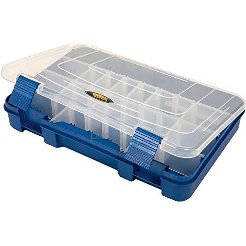 Lineaeffe Boîte Accessoires 3 27.6 x 18.8 x 4.5 cm Boîte de Pêche Rangement Accessoire Leurre Hameçon Compartiment Plastique
