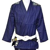 Valor - Kimono Bravura de Jiu-jitsu brésilien bleu marine avec ceinture blanche...