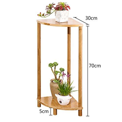 BOBE SHOP- Support simple de fleur de support de fleur de bambou simple moderne, support de fleur de salon de fleur de plate-forme succulente de fleur (taille : 70 * 30 * 30cm)