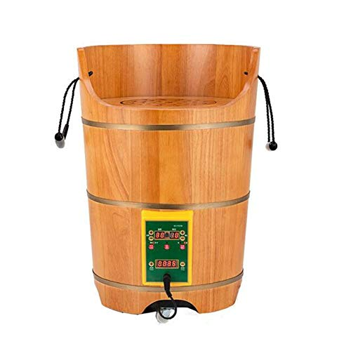 Find Cheap QY Foot Bath Barrel Health Bucket Fumigation Bucket Steam Deep Barrel Household Heating H...