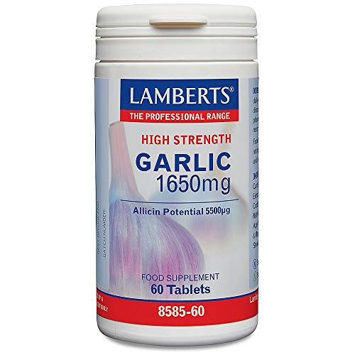 Lamberts Garlic 1650mg Tablets 60