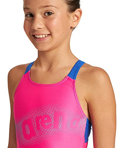 ARENA Bañador niña Wakes, Freak Rose-Royal, 12 años