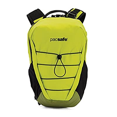 Pacsafe Venturesafe X12 Anti-Theft 12L Backpack Python Green One Size