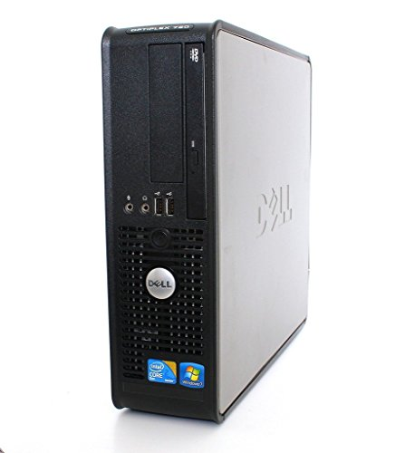 Dell Optiplex 745 SFF Desktop Computer (Intel Core Duo Processor 1.86GHz, 4GB DDR2 Memory, 80GB HDD, DVDRW, Windows 10 Home) (Renewed)
