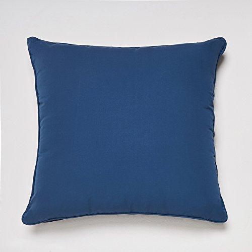 Sancarlos-Cojín SENSACIÓN con Relleno, Microfibra, Color Azul Marino, Tamaño 45x45 cm