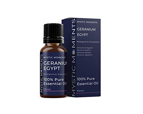 Mystic Moments Geranio Egitto Olio Essenziale - 10ml - 100% Puro
